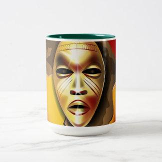 Kwanzaa Two-Tone Coffee Mug