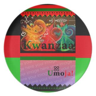 KWANZAA Umoja! Dinner Plates