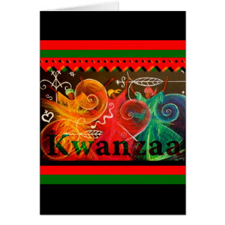 Kwanzaa - Umoja! Greetings Card