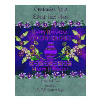 Kwanzaa Vase Flyer