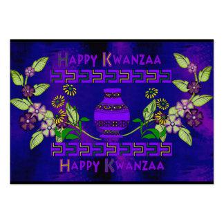 Kwanzaa Vase Large Business Card