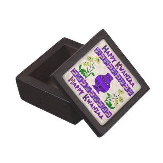 Kwanzaa Vase Premium Jewelry Boxes
