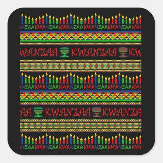Kwanzaa Wall Kwanzaa Holiday Stickers