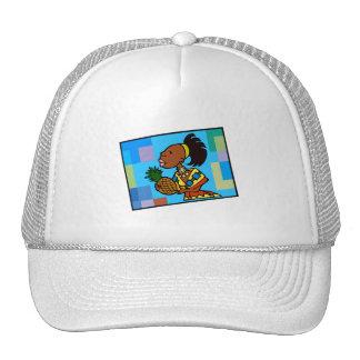 Kwanzaa Woman Mesh Hats