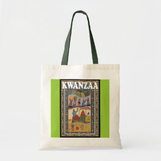 Kwanzaa - women s work tote bags