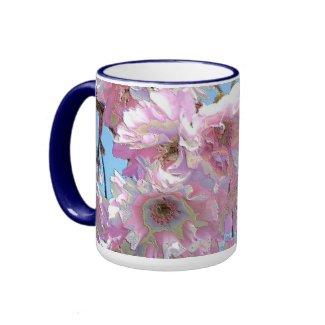 Kwanzan Cherry Blooms mug