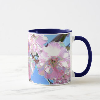 Kwanzan East Asian Cherry Blooms Mug