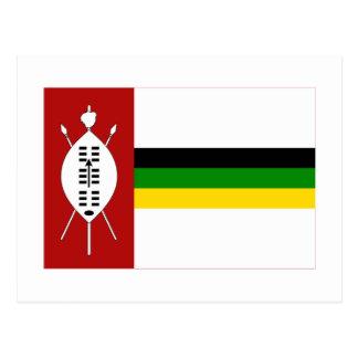KwaZulu Flag Post Cards