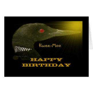 Kwee-Moo (Loon) Card