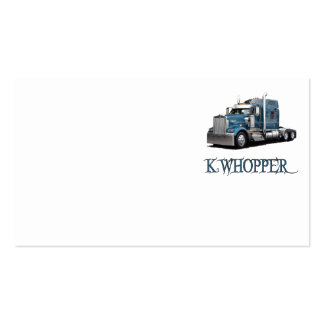 kwhoppertrans business card templates