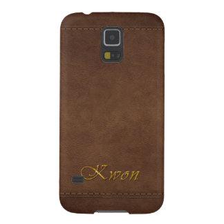 KWON Leather-look Customised Phone Case