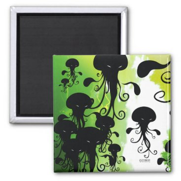 Cockblock kwubos magnet spooky jellyfish squid