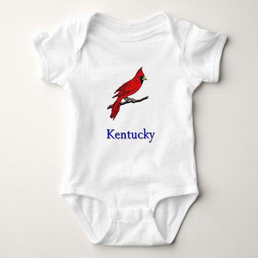 KY Cardinal Baby Bodysuit