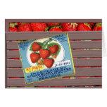 KY Pride Strawberries Card