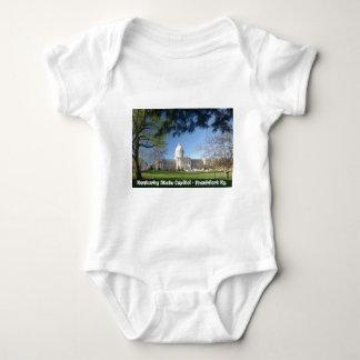 KYCA101.Ky State Capitol - Frankfort Ky. Baby Bodysuit