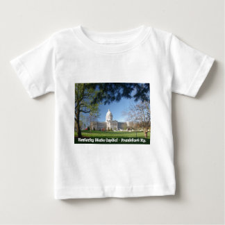 KYCA101.Ky State Capitol - Frankfort Ky. Baby T-Shirt