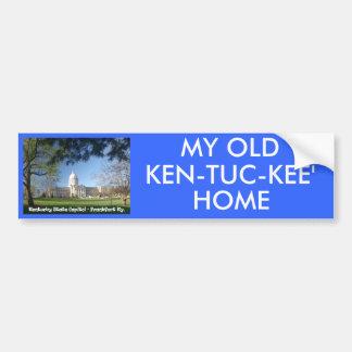 KYCA101.Ky State Capitol - Frankfort Ky. Bumper Sticker