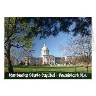 KYCA101.Ky State Capitol - Frankfort Ky. Card