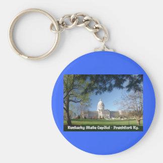 KYCA101.Ky State Capitol - Frankfort Ky. Keychain