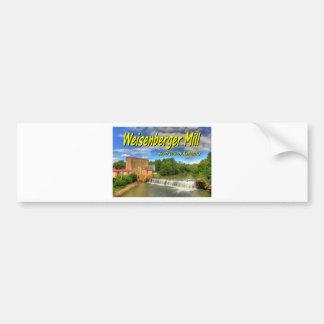 KYCA103.Weisenberger Mill - Scott Co Ky.19x13.C. Car Bumper Sticker