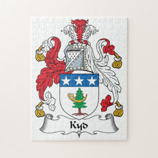 Kyd Family Crest Puzzle