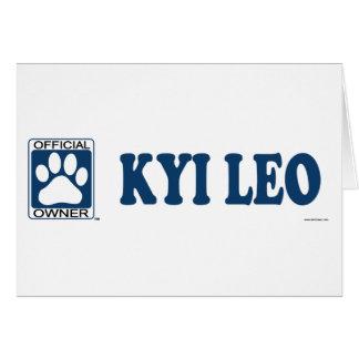 Kyi Leo Blue Card