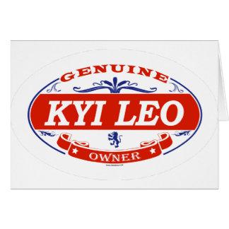 Kyi Leo  Card