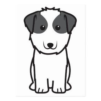 Kyi-Leo Dog Cartoon Postcard