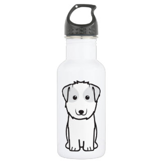 Kyi-Leo Dog Cartoon Stainless Steel Water Bottle
