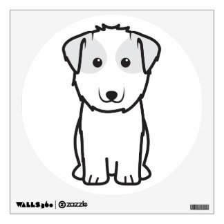 Kyi-Leo Dog Cartoon Wall Decal