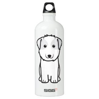 Kyi-Leo Dog Cartoon Water Bottle