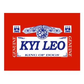 Kyi Leo Postcard