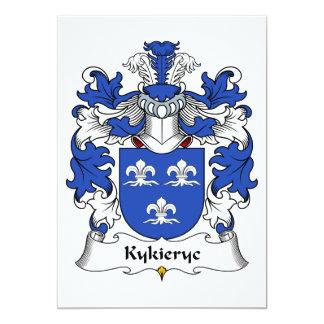 Kykieryc Family Crest Card