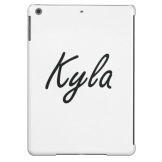 Kyla artistic Name Design Cover For iPad Air