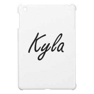 Kyla artistic Name Design iPad Mini Cover