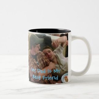 Kyle and Joe Two-Tone Coffee Mug