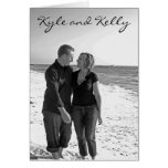 Kyle and Kelly invitation Greeting Card
