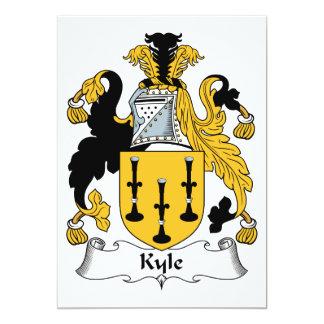 Kyle Family Crest Card