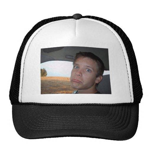 Kyle May Sad Face Trucker Hats