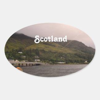 Kyle of Lochalsh Oval Sticker