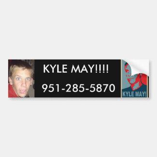¡kyle-puede, el kylemayfinal, KYLE PUEDE!!!! , 951 Pegatina Para Auto