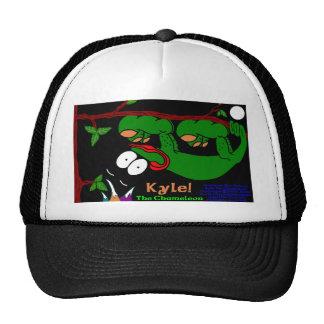Kyle The Chameleon! In Celtic Green Trucker Hats