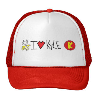 "Kyle W. Productions ""I Love Kyle"" Hat"