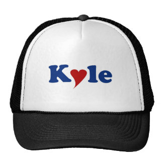 Kyle with Heart Trucker Hat
