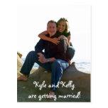 ¡Kyle y Kelly están consiguiendo casados! Postal