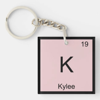 Kylee  Name Chemistry Element Periodic Table Keychain