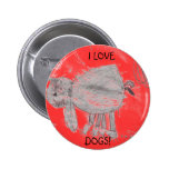 Kylee's picture, I LOVE, DOGS! Button