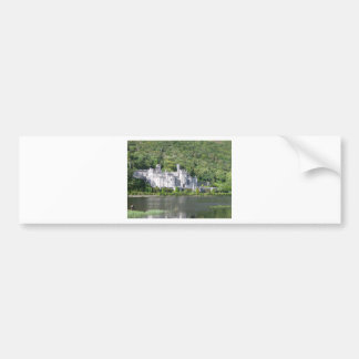 Kylemore Abbey again Bumper Stickers
