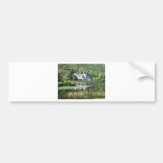 Kylemore Abbey Car Bumper Sticker