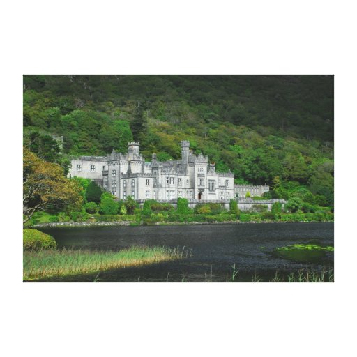 Kylemore Abbey Canvas Gallery Wrap Stretched Canvas Print